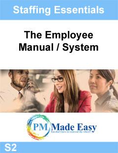 Employee Manual System