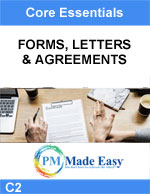 Forms Letters Agreements
