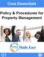 Policy Procedures Property Management