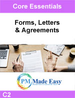 Forms, Letters, & Agreements C-2