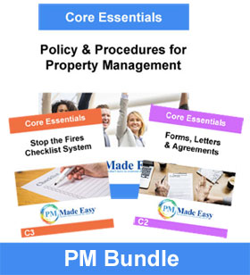 Bundle Package Policy & Procedures for Property Mgt & C1 PM Bundle
