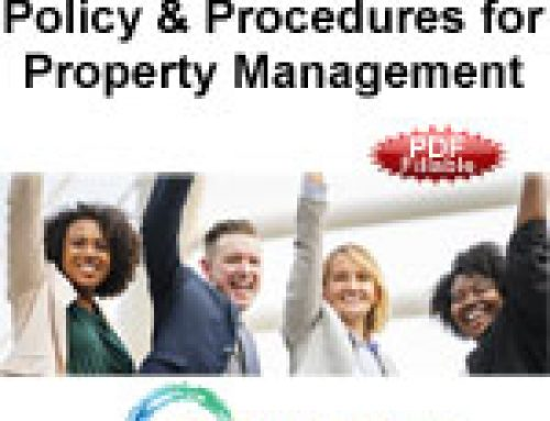 Policy & Procedures Manual for Property Management, $325 (PDF)