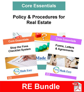 Bundle Package Policy & Procedures for Real Estate & C1 RE Bundle