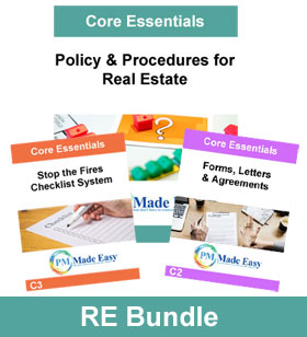 Bundle Package Policy & Procedures for Real Estate