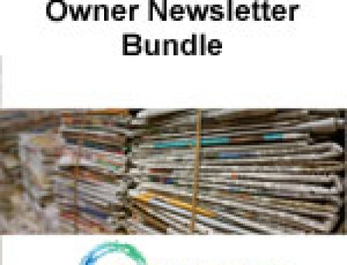Owner Newsletter Bundle $2090