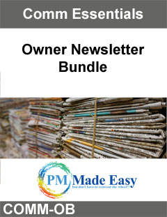 Owner Newsletter Bundle
