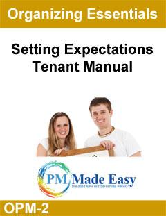 Tenant Manual