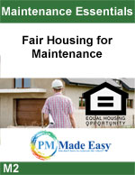 Fair Housing for Maintenance