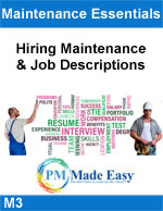 Hiring Maintenance & Job Descriptions