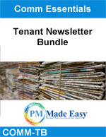 Tenant Newsletter Articles Bundle