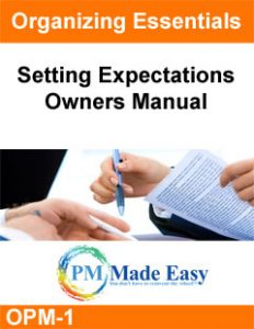 Setting Expectation Owners Manual for Property Management