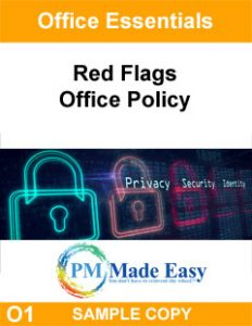 Red Flags Office Policy for Property Management