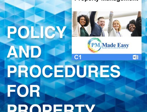 The Importance of a Policy and Procedures Manual for Property Management