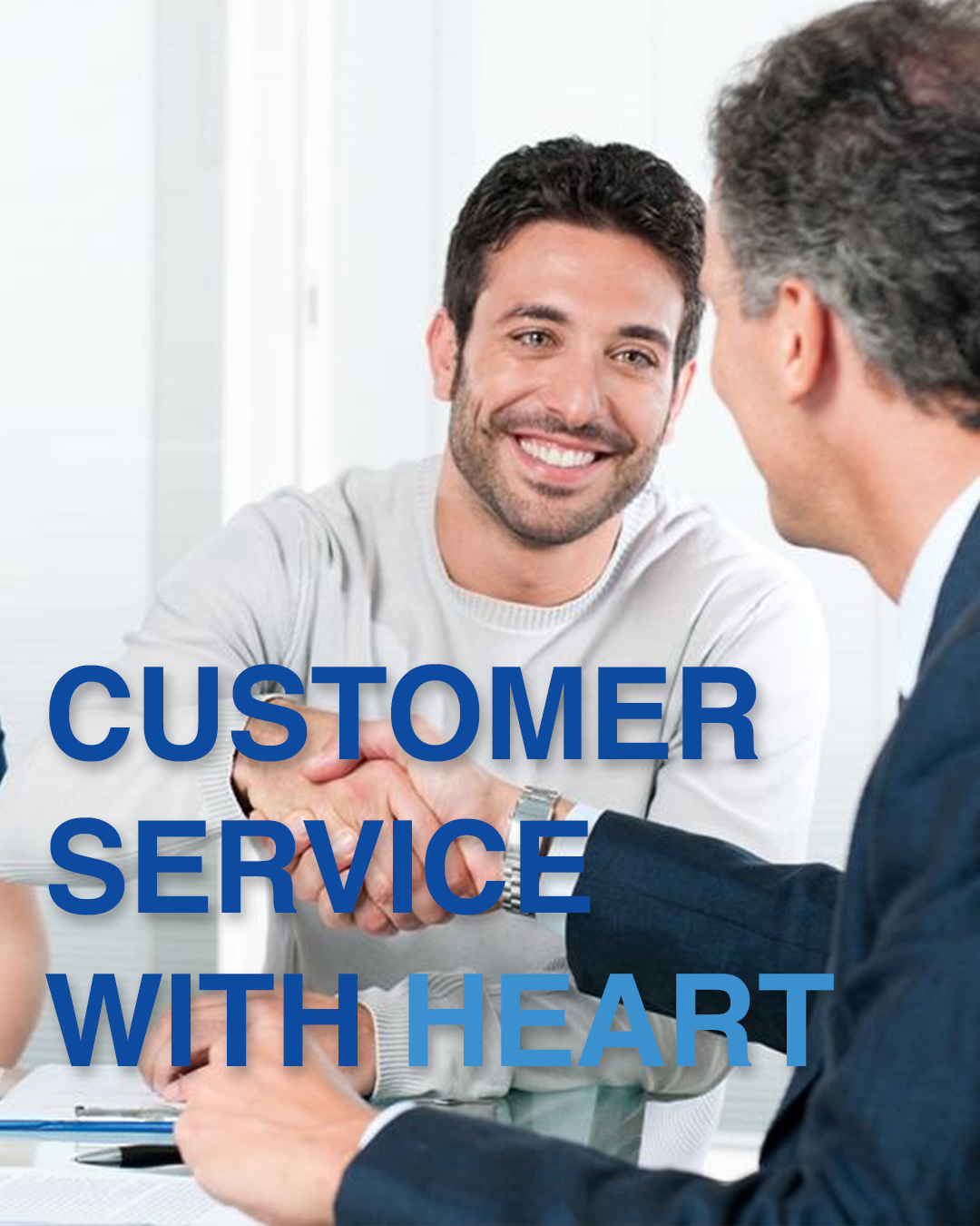 Customer Service with heart