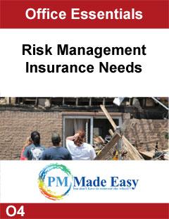 Risk Management, Insurance Needs