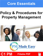 Policy and Procedures for Property Management